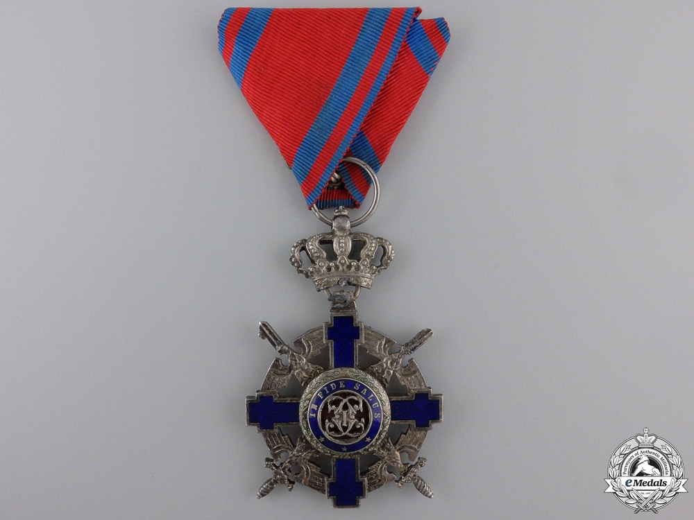eMedals-An Order of the Romanian Star; Military Division Knight