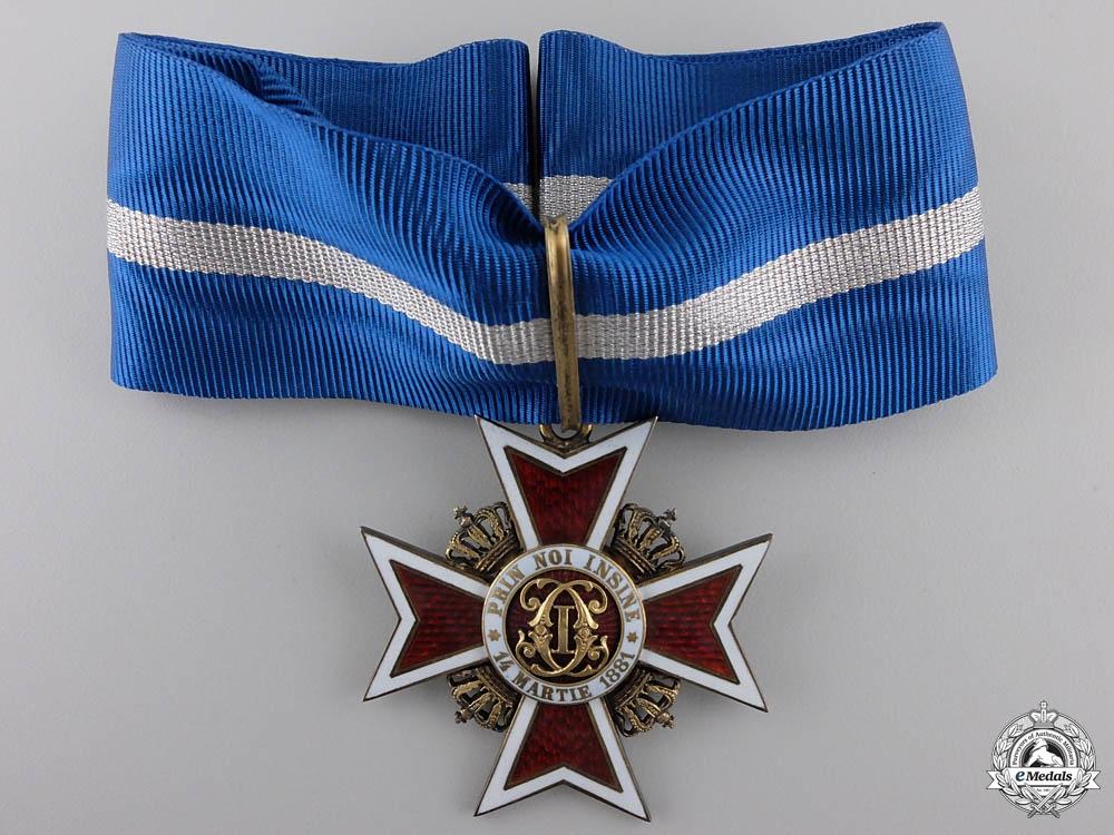 eMedals-An Order of the Romanian Crown; Type II Commanders Cross