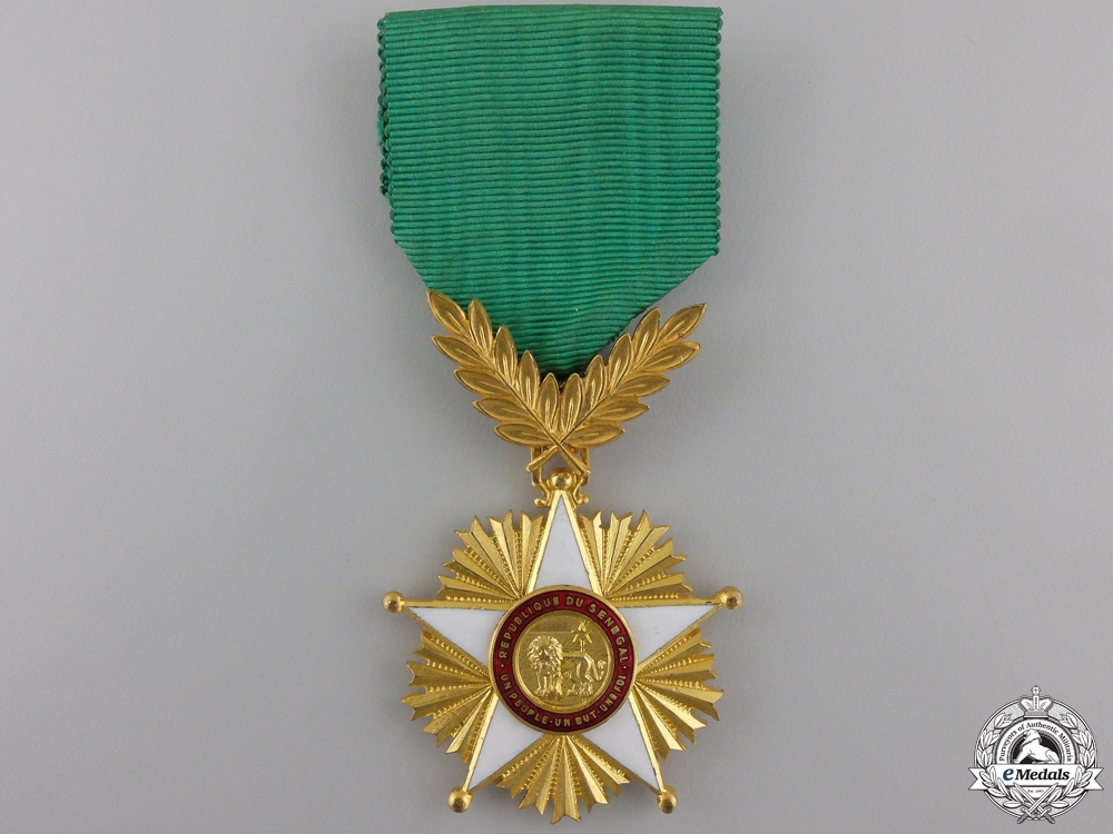 eMedals-An Order of the Lion of Senegal; Knight