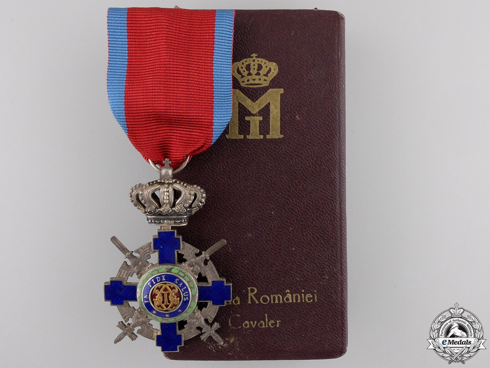 eMedals-An Order of the Star of Romania; Knight with Crossed Swords