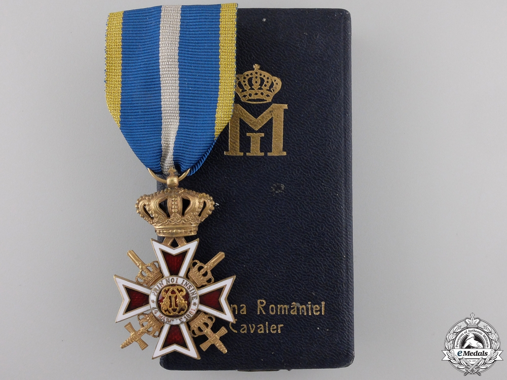 eMedals-An Order of the Crown of Romania; Military Division with Swords