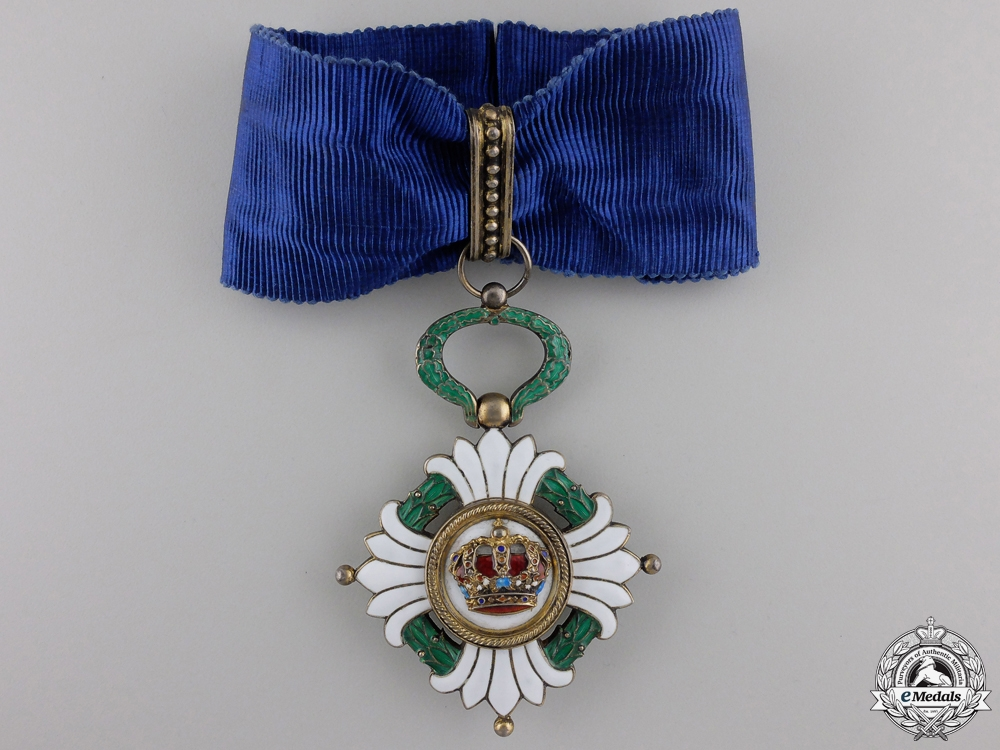eMedals-An Order of the Yugoslav Crown; 3rd Class Commander