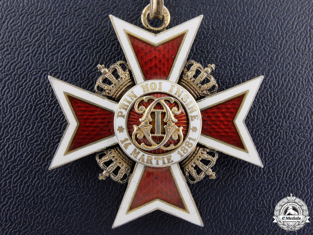 eMedals-Romania, Kingdom. An Order of the Crown, Commander, by C.F. Zimmermann