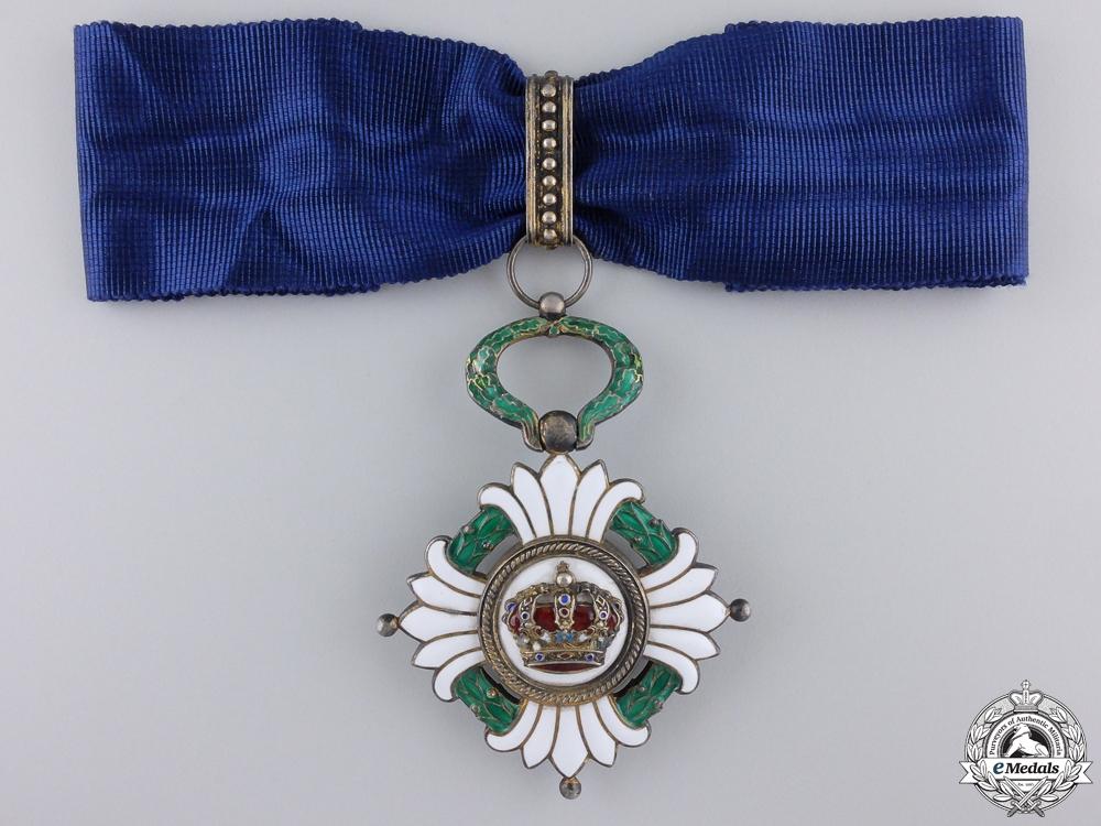 eMedals-An Order of the Yugoslavian Crown; Third Class Commander