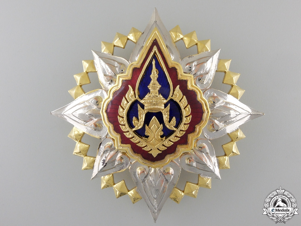 eMedals-An Order of the Crown of Thailand; Grand Cross Star