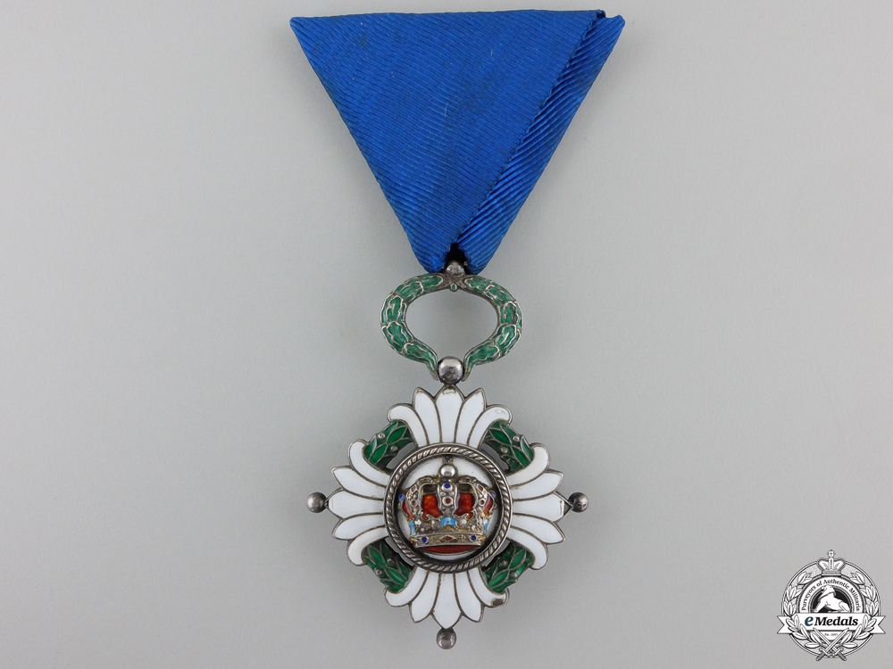 eMedals-An Order of the Yugoslav Crown; Fifth Class