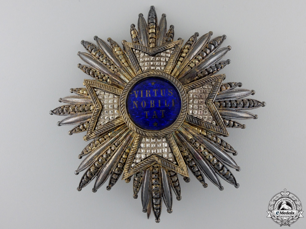 eMedals-An Order of the Netherlands Lion; Fine Grand Cross Star by Briquet Setr