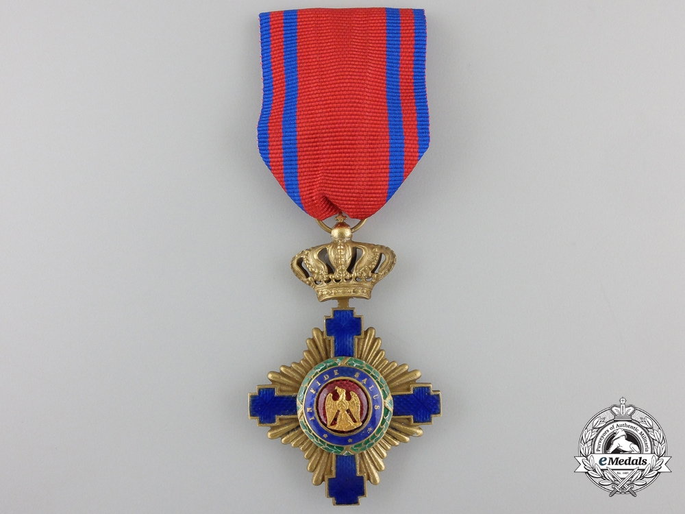 eMedals-An Order of the Romanian Star; Civil Division Knight