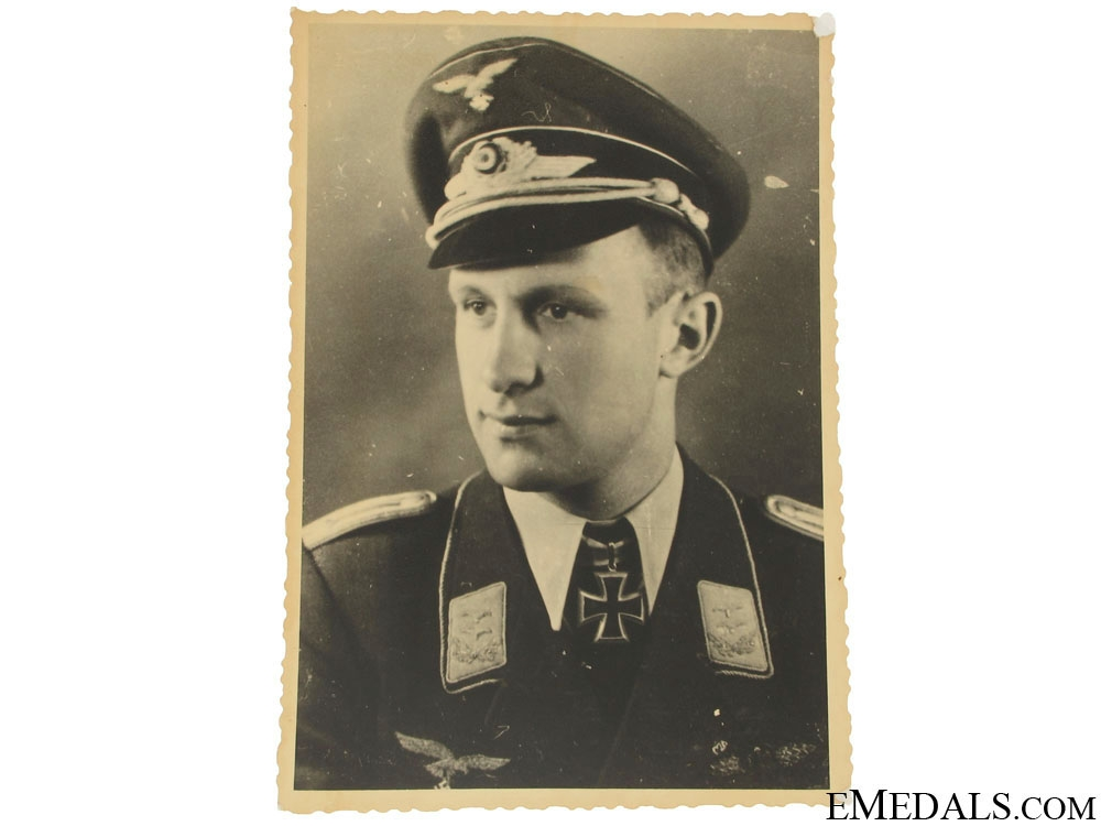 eMedals-An Original Luftwaffe KC Winner Photo