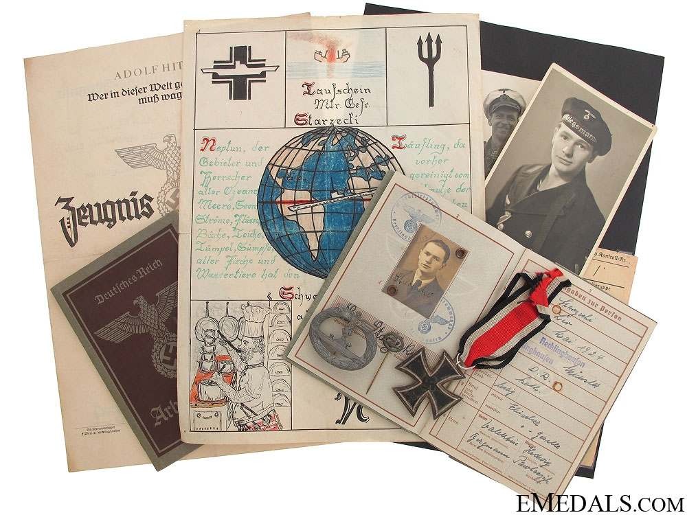 eMedals-An Outstanding Personal Kriegsmarine Grouping