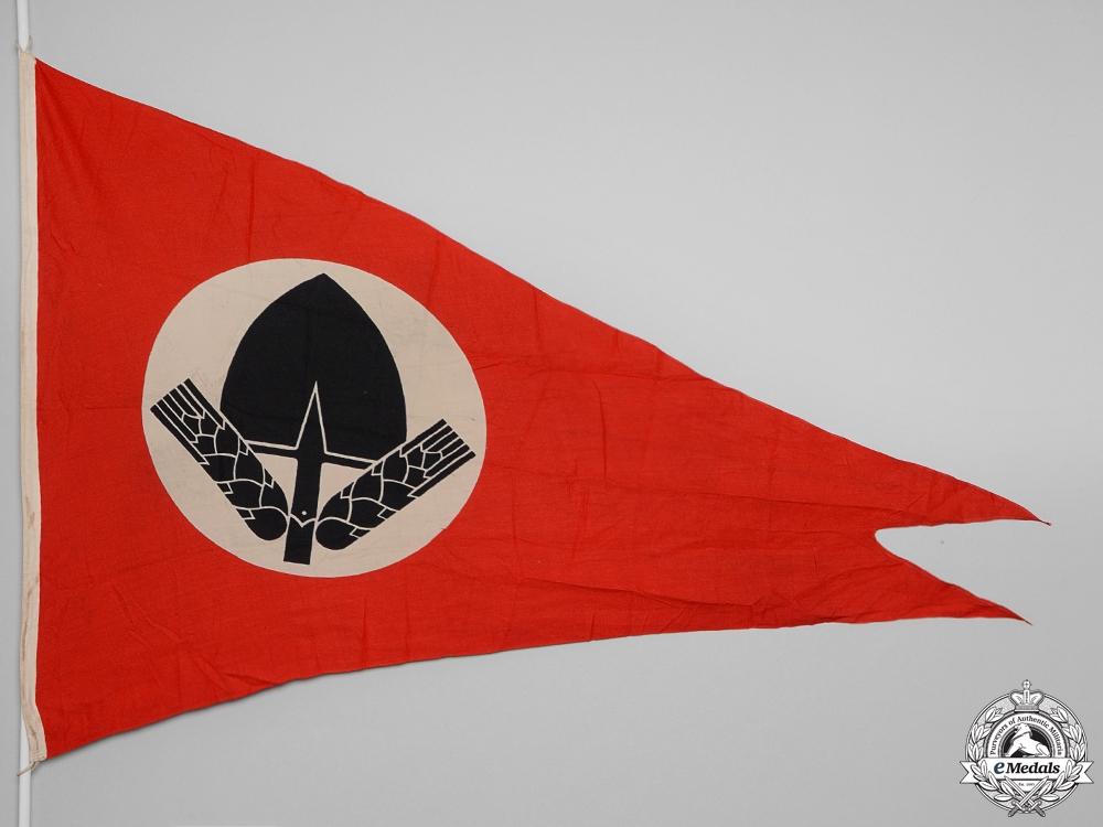 eMedals-An RAD (Reichsarbeitsdienst) Dual-Point Pennant