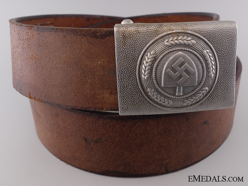 eMedals-An RAD Belt with Buckle by Hermann Aurich, Dresden