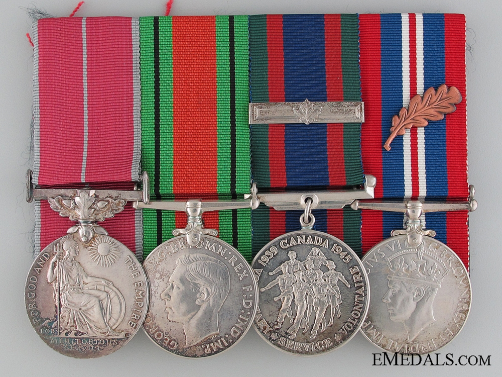 eMedals-An RCAF British Empire Medal Group