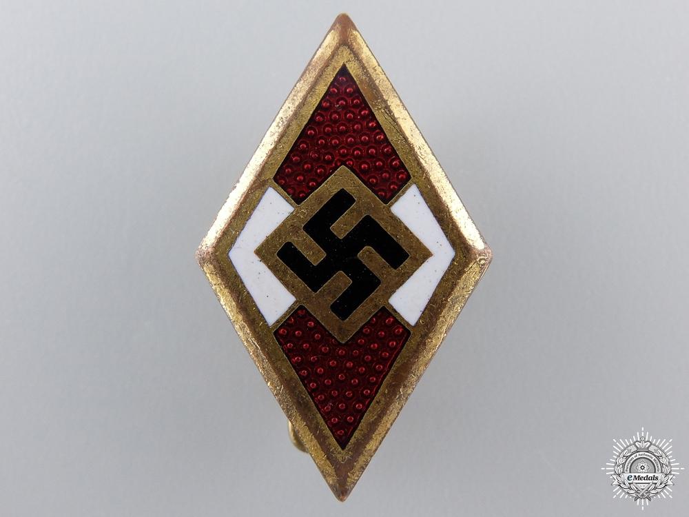 eMedals-An RZM Marked Golden HJ Badge