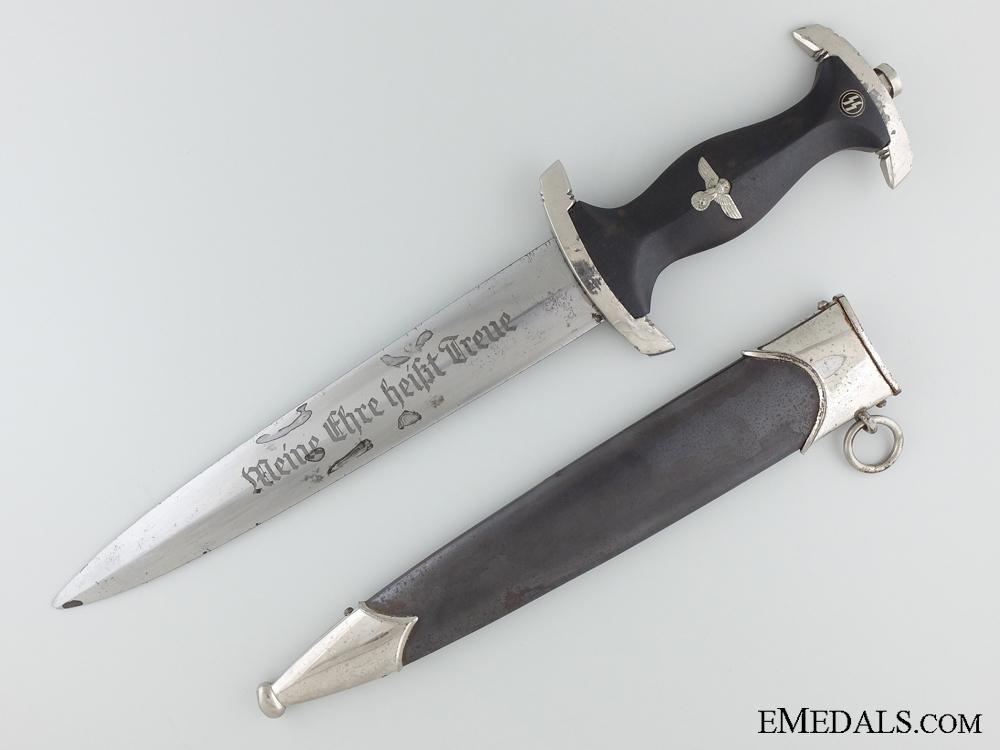 eMedals-An RZM SS Dagger by Weyersberg, Kirschbaum & Co.