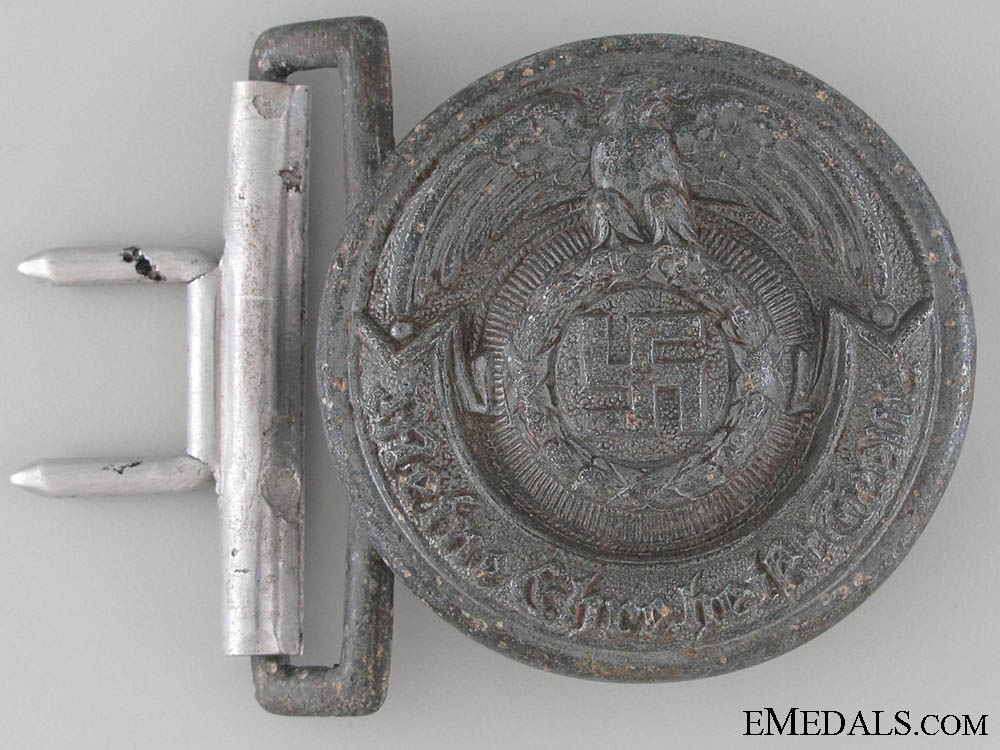 eMedals-An RZM SS Officer's Buckle