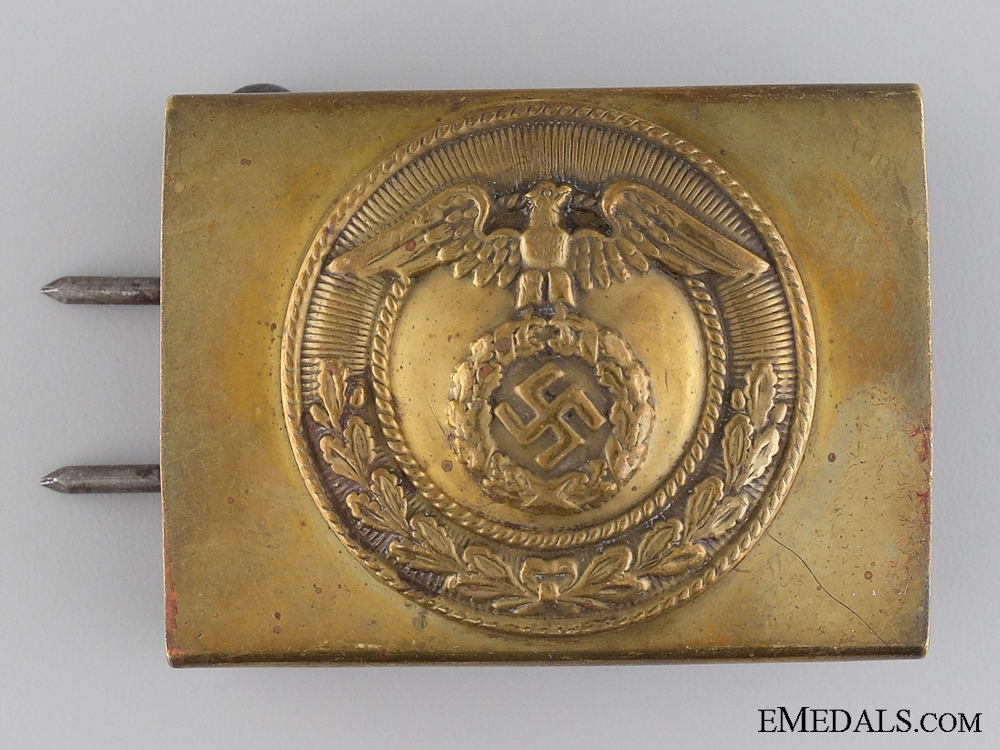 eMedals-An SA Belt Buckle for Enlisted Men/NCOs