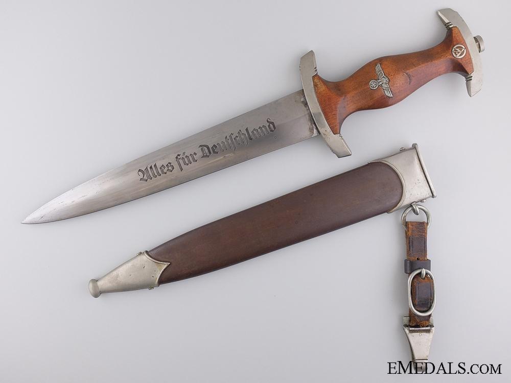eMedals-An SA Dagger by Stocker & Co. (SMF) Solingen