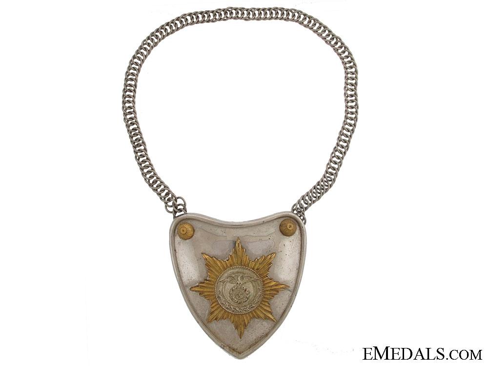eMedals-An SA Flag Bearer Gorget c.1933