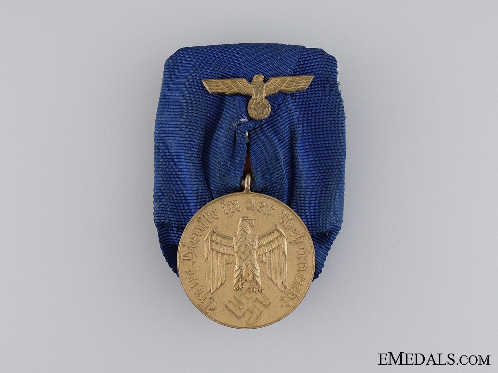 eMedals-An Second War German Army Long Service Medal; 12 Years