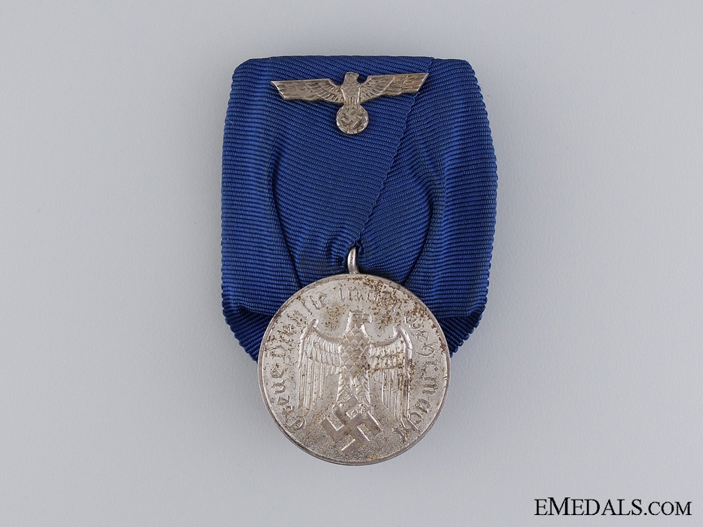 eMedals-An Second War German Army Long Service Medal; 4 Years