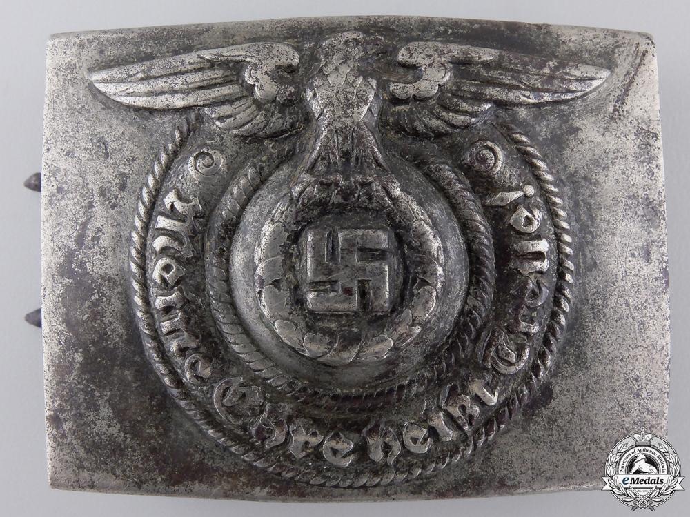eMedals-An SS Belt Buckle by Overhoff & Cie, Ludenscheid