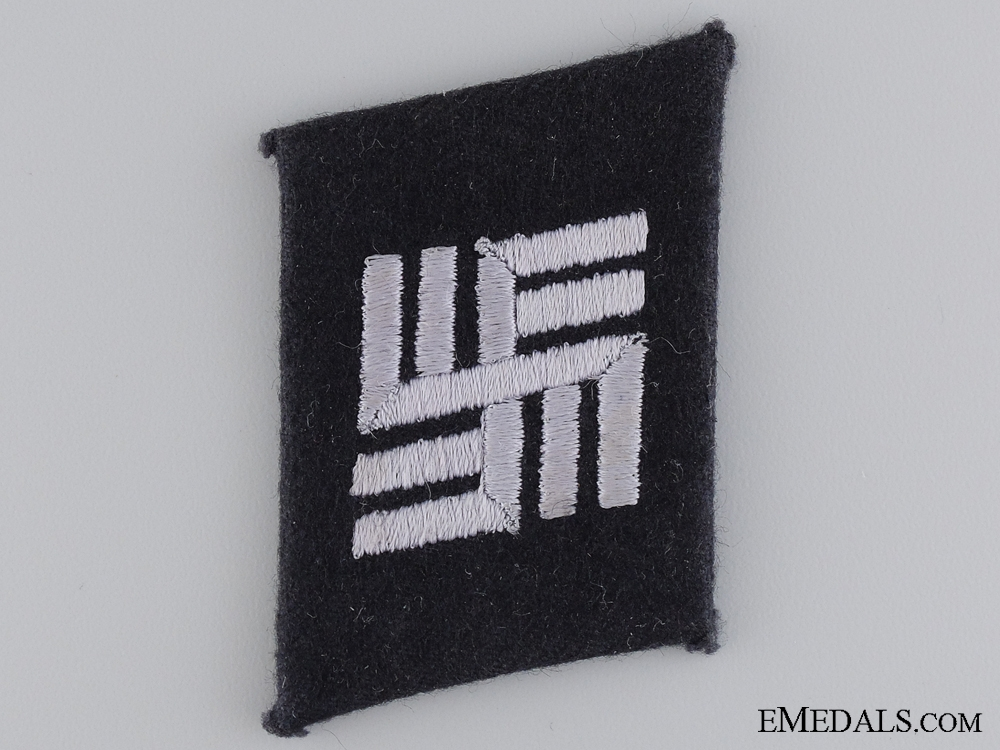 eMedals-An SS Camp Personnel Collar Tab