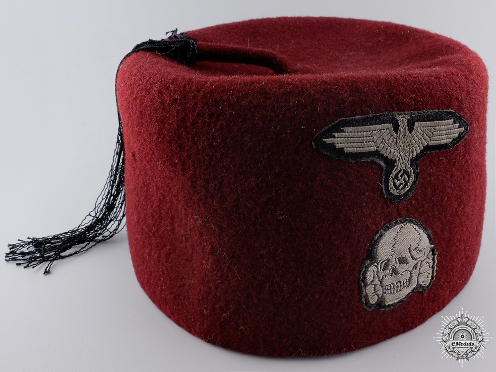 eMedals-An SS Fez of the 13th Handschar Division