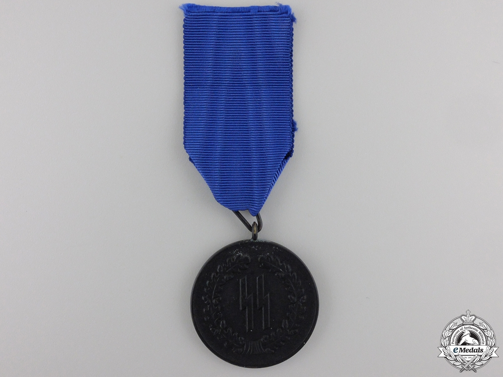 eMedals-An SS-Four Years Service Medal by Petz and Lorenz