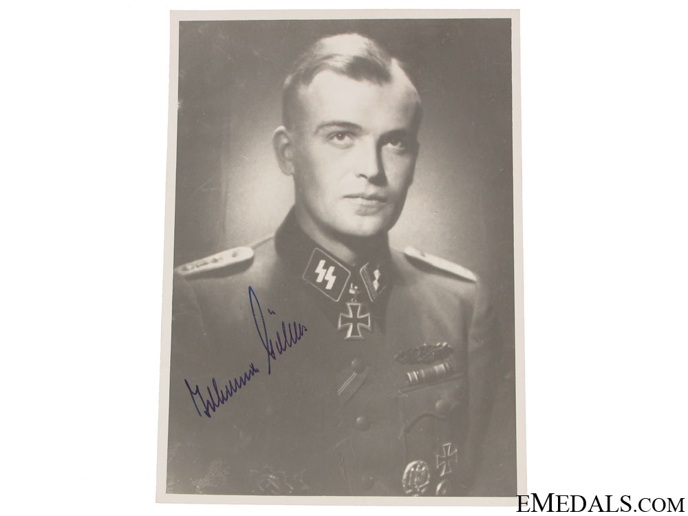 eMedals-An SS KC Winner Signed Photograph
