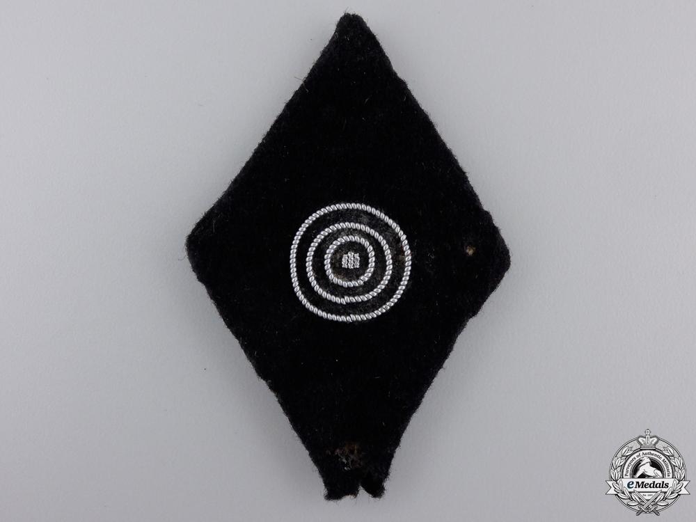 eMedals-An SS Second Class Marksman's Sleeve Badge