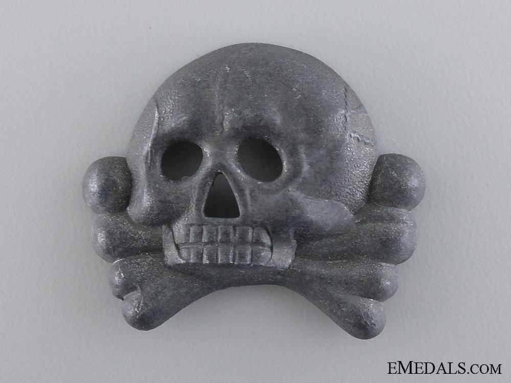 eMedals-An SS Skull Visor Cap