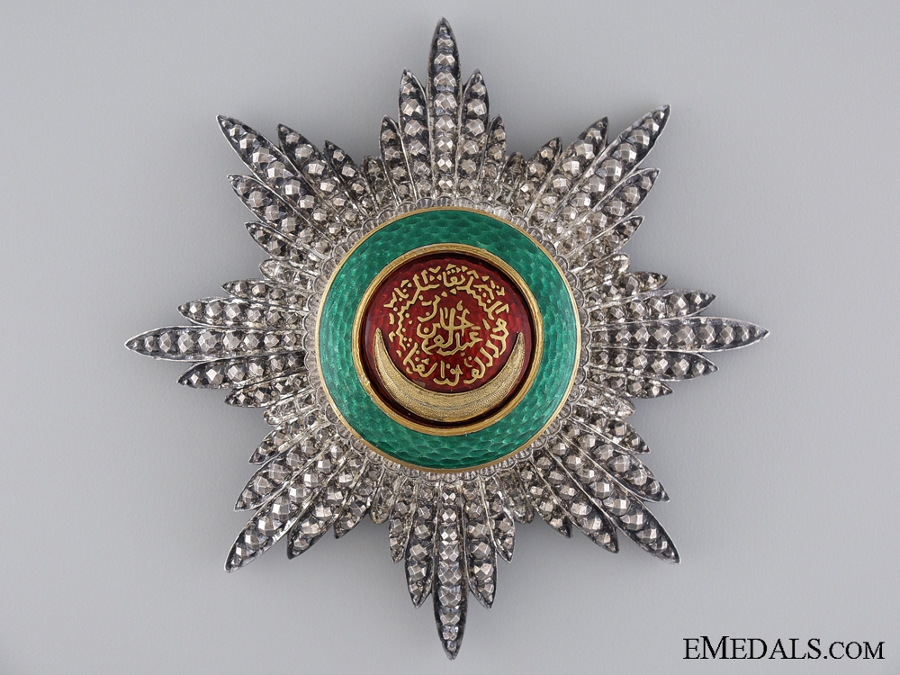 eMedals-An Superb Order of Order of Osmania (Osmanli) by Godet