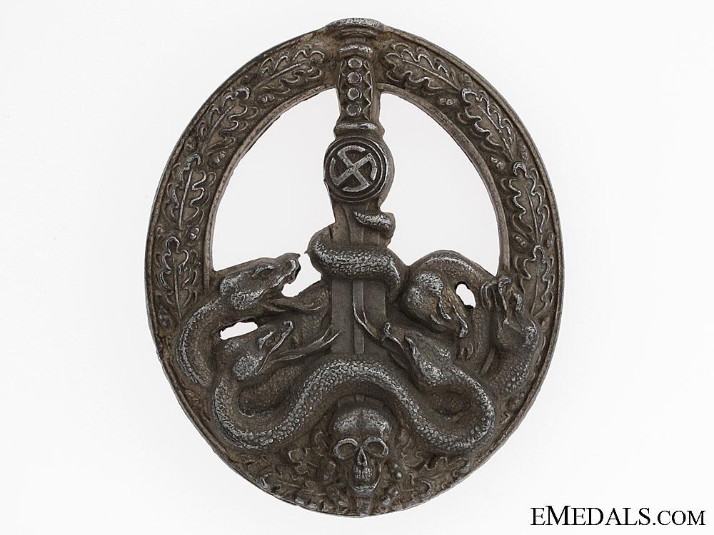 eMedals-Anti-partisan Badge – Silver Grade