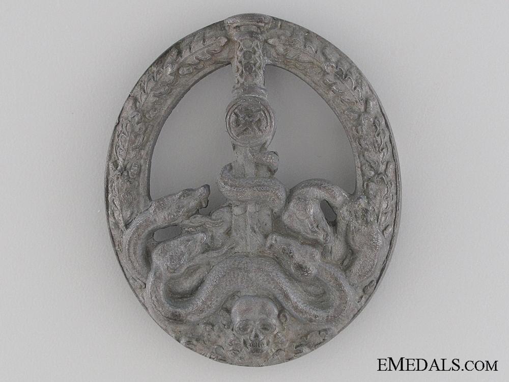 eMedals-Anti Partisan Badge – Bronze Grade