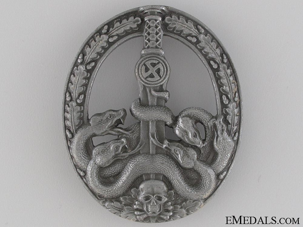eMedals-Anti Partisan Badge; Bronze Grade by Juncker