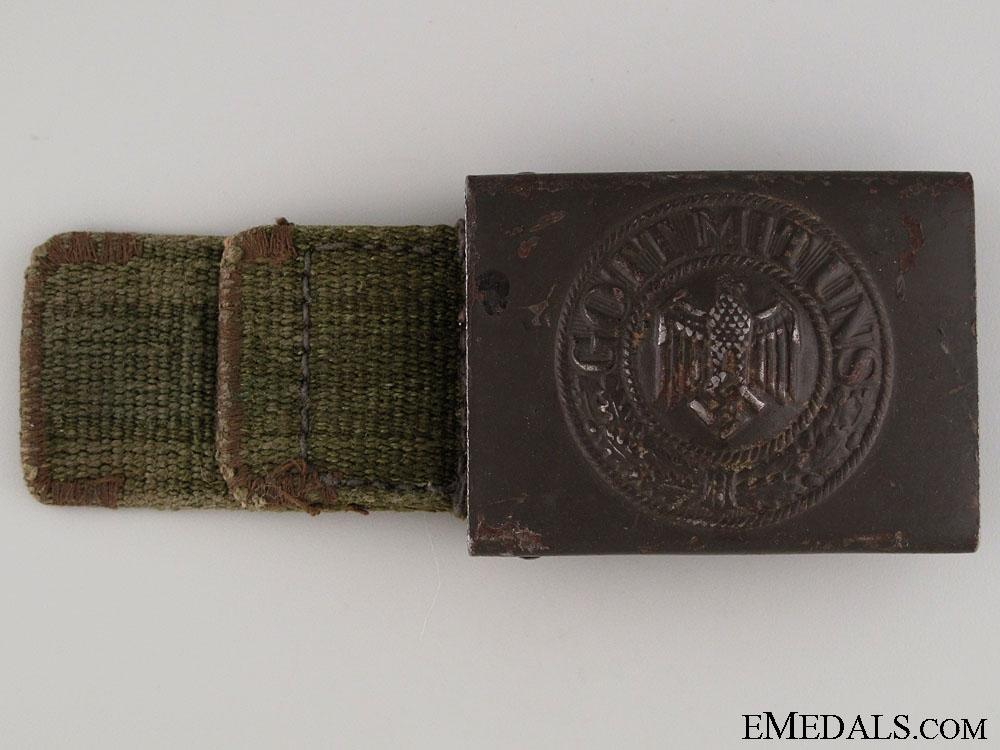 eMedals-Army (Heer) Belt Buckle