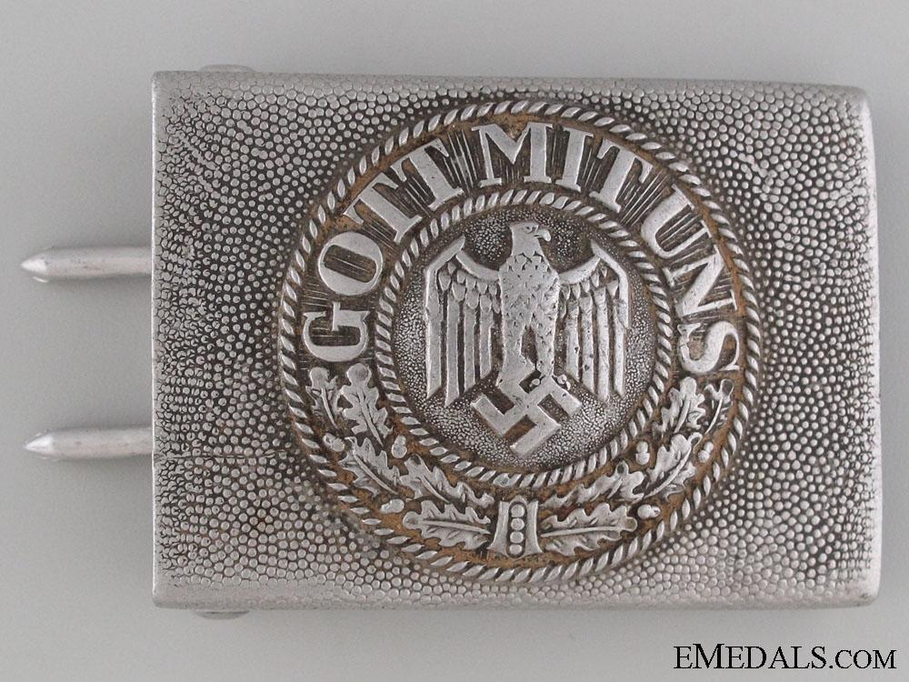 eMedals-Army (Heer) Belt Buckle by Gustav Brehmer