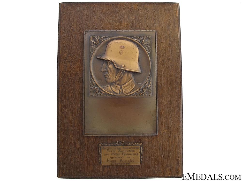 eMedals-Army (Heer) Memorial Plaque