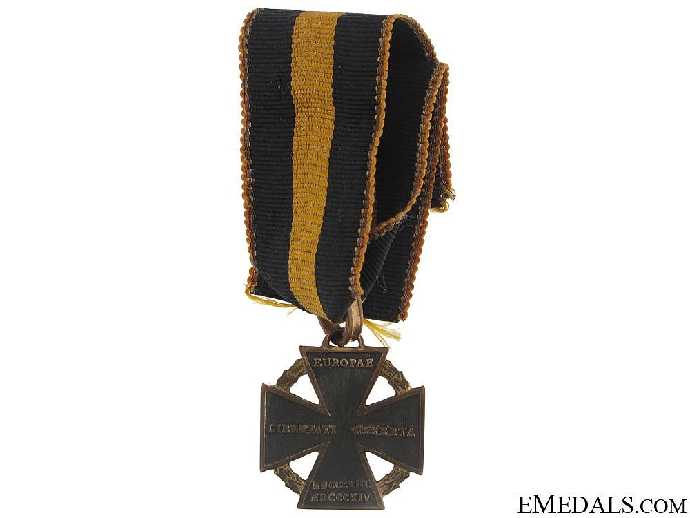 eMedals-Army Cross 1813-14 (KANONENKREUZ)