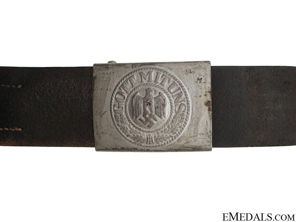 eMedals-Army EM/NCOS Belt & Buckle