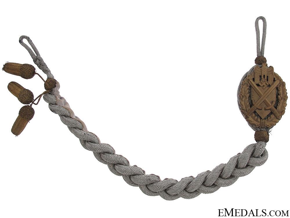 eMedals-Army Marksmanship Lanyard - Grade 12