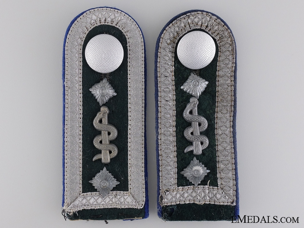 eMedals-Army Medical Sanitäts-Oberfeldwebel Shoulder Boards