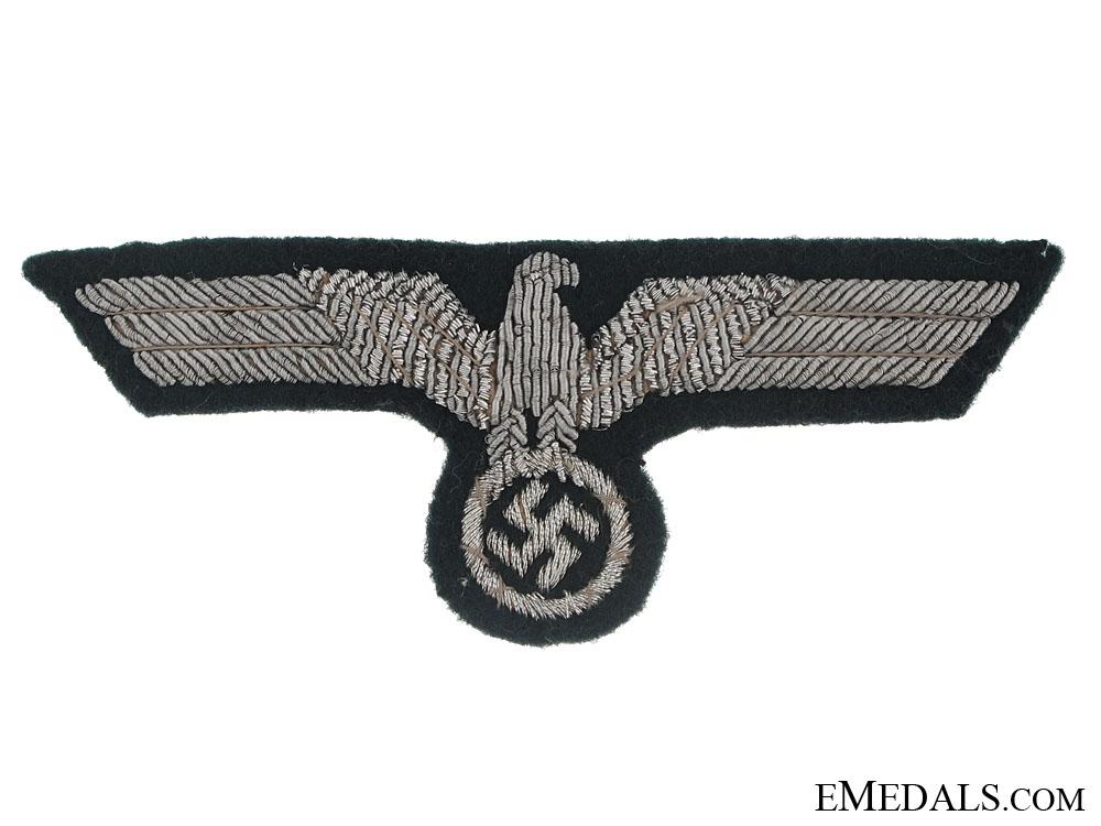 eMedals-Army officer's Bullion Eagle for Visor Hat