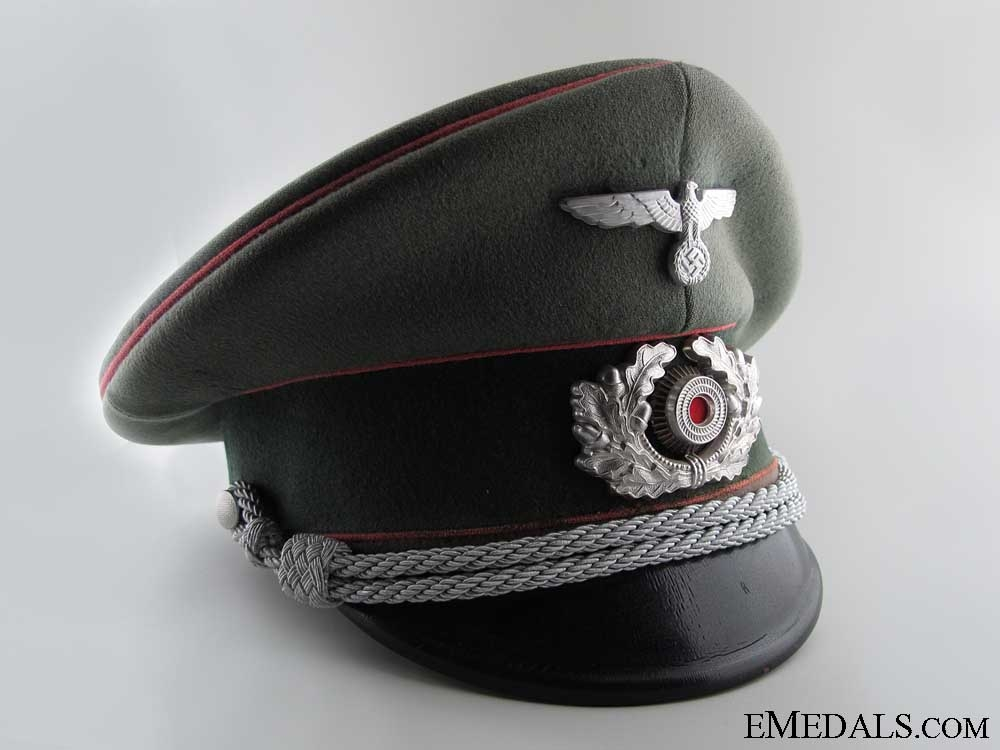 eMedals-Army Panzer Officer's Visor Cap by Christian Haug