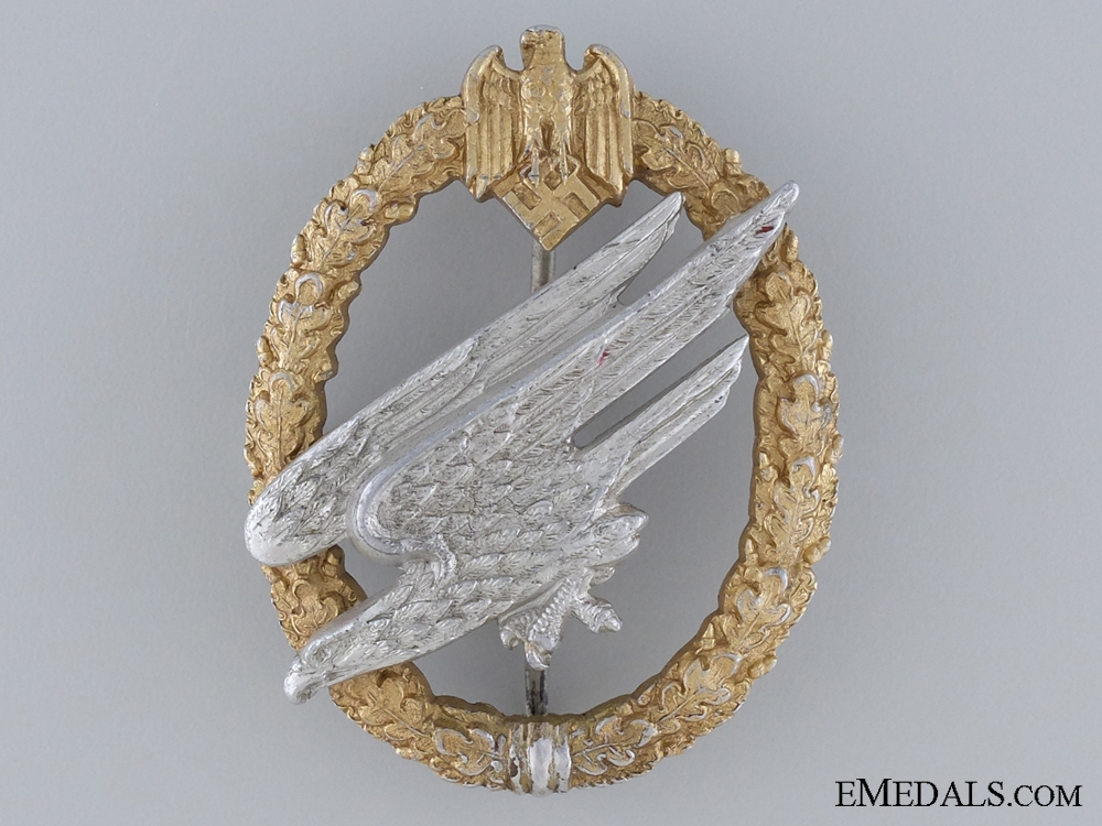 eMedals-A Scarce Army Paratrooper Badge Type II by Juncker