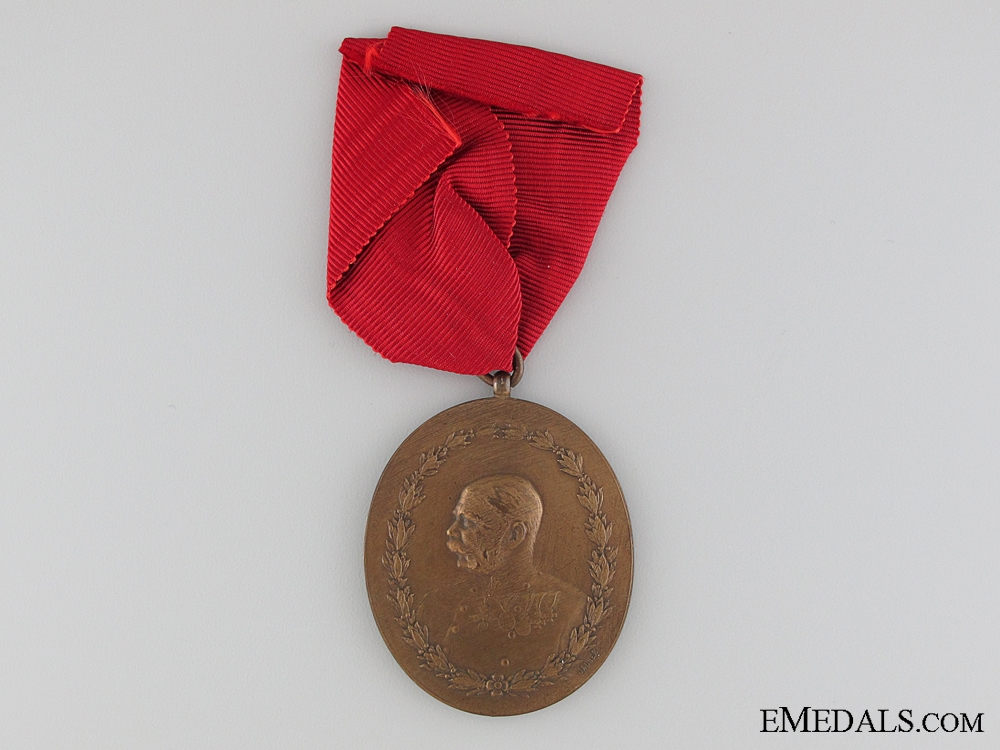 eMedals-Austrian Imperial Medal for Care of Horses