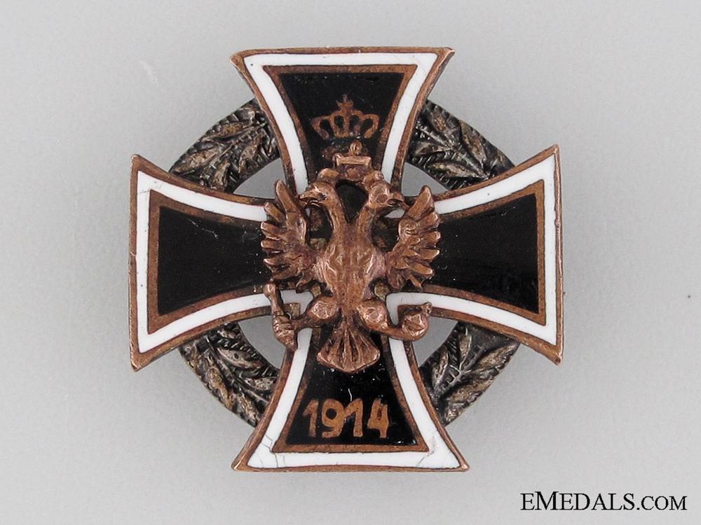 eMedals-Austrian WWI Iron Cross Pin, 1914