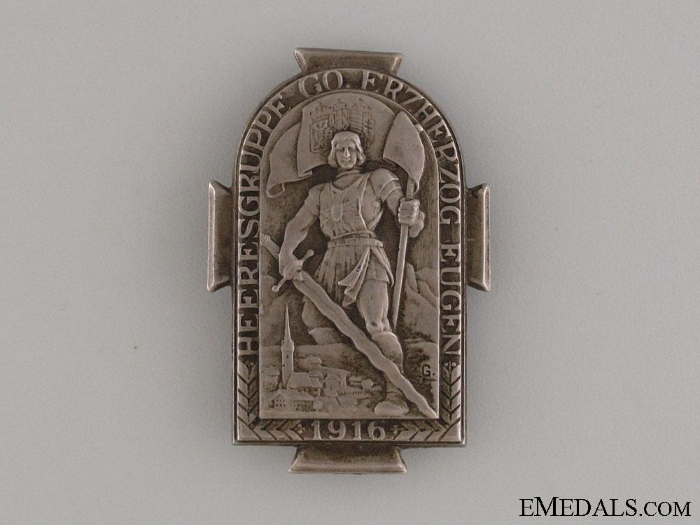 eMedals-Austro Hungarian Army Regimental Badge 1916
