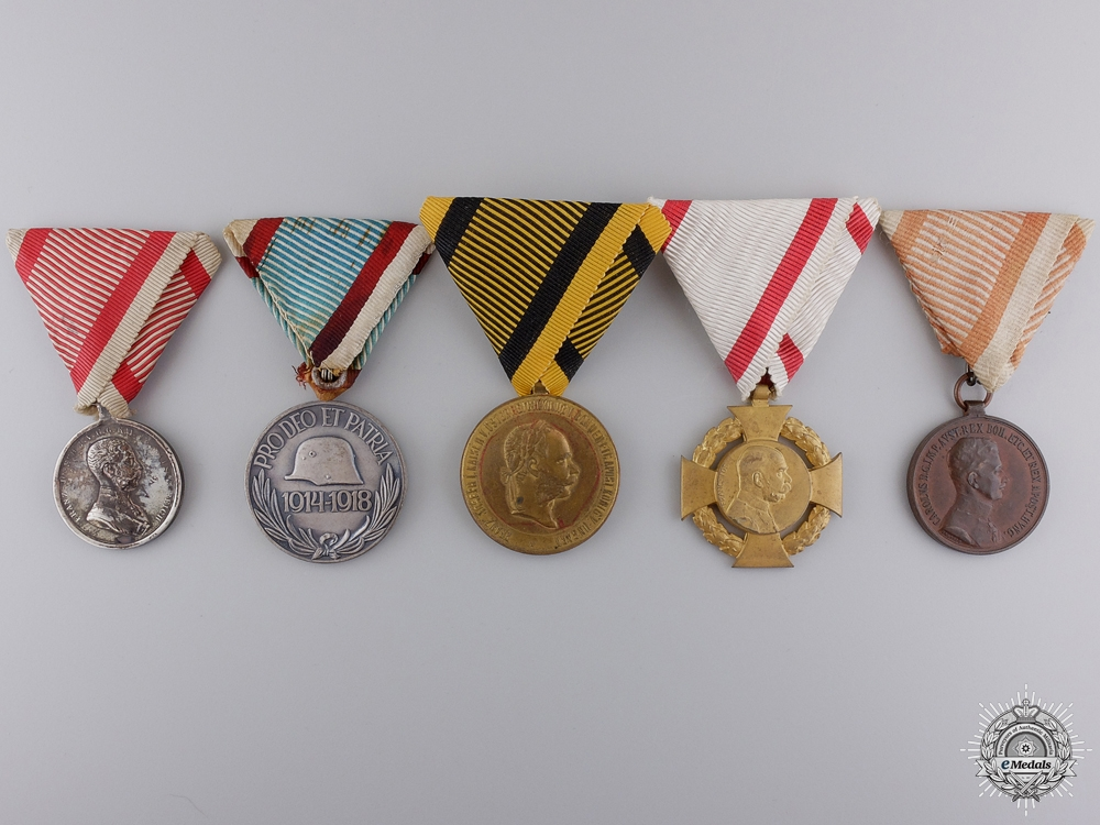 eMedals-Austro-Hungarian First War Medals